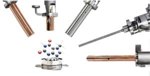 UHV accessories and instruments