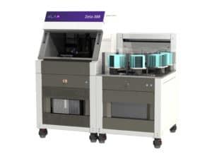 Automated optical profilometer, large sample