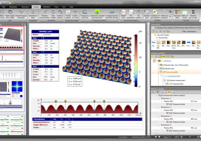 Options - apex software on microlens array